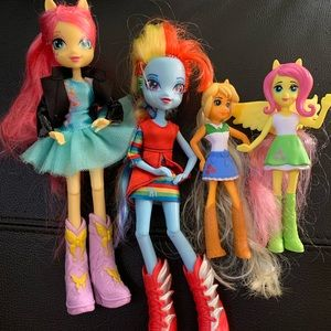 Hasbro Set of 4 Dolls